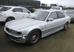2001 BMW 740 - WBAGG834X1DN88763 Right View