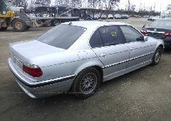 2001 BMW 740 - WBAGG834X1DN88763 rear view