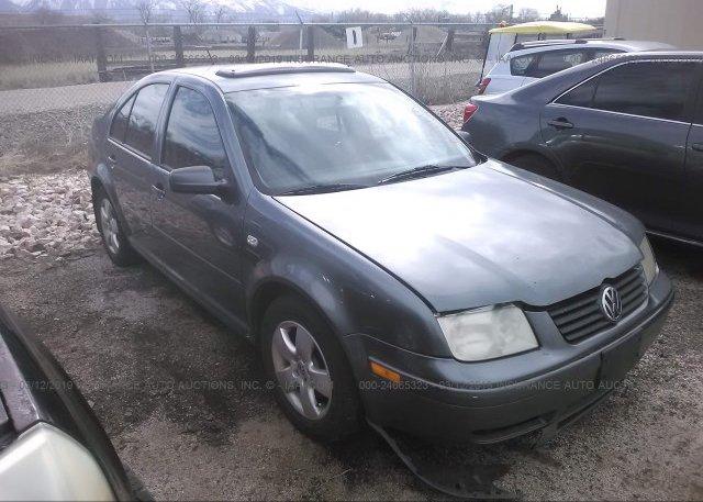 Inventory #112408557 2003 Volkswagen JETTA