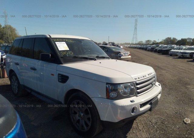 Inventory #398972198 2008 Land Rover RANGE ROVER SPORT