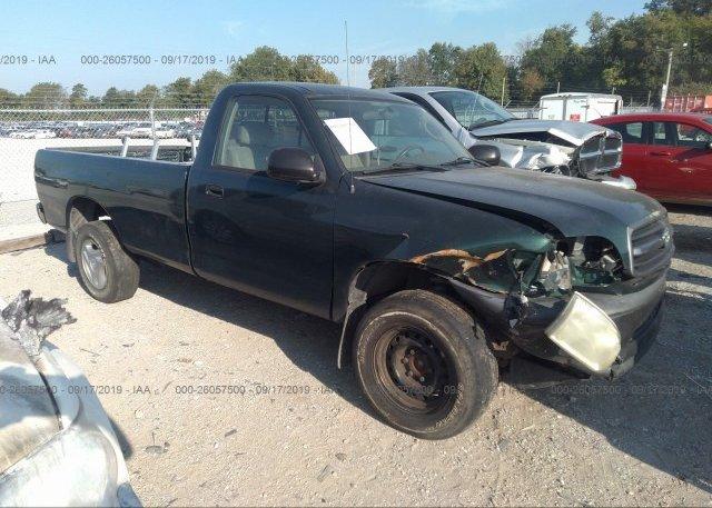Inventory #990628831 2001 Toyota TUNDRA