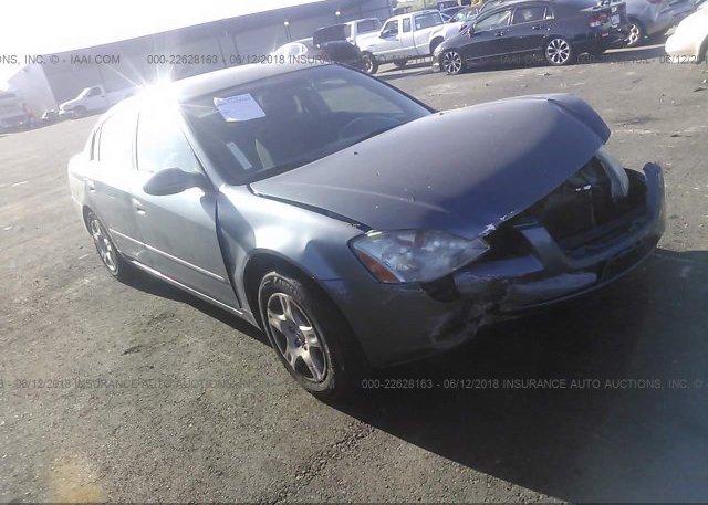 Inventory #250228365 2002 Nissan ALTIMA