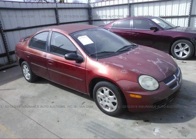 Inventory #922447294 2004 Dodge NEON