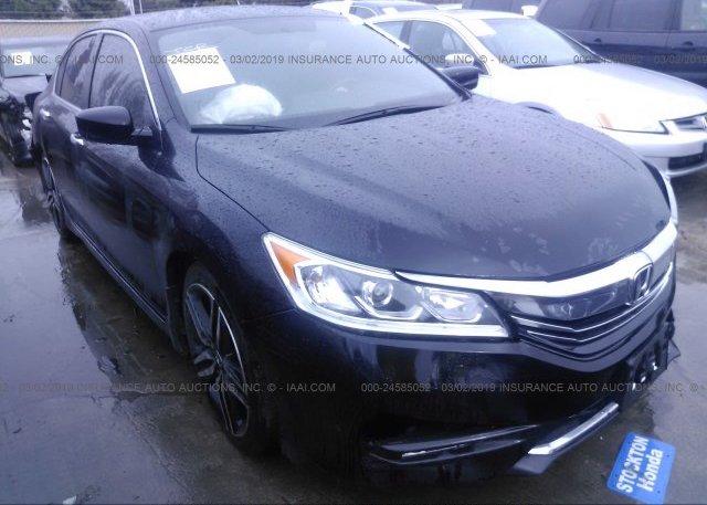 Inventory #785757152 2017 Honda ACCORD