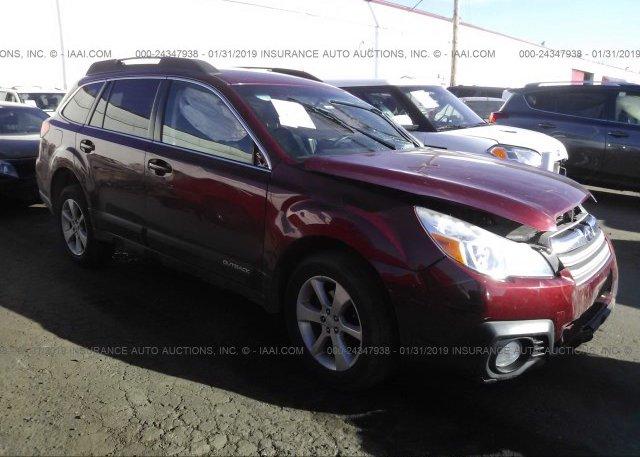 Inventory #970993111 2013 Subaru OUTBACK