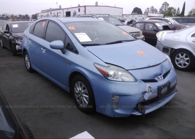 Inventory #900503900 2013 Toyota PRIUS PLUG-IN