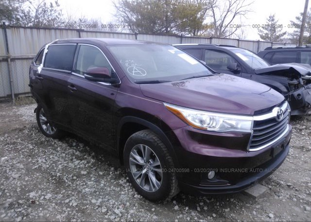 Inventory #387690767 2015 Toyota HIGHLANDER