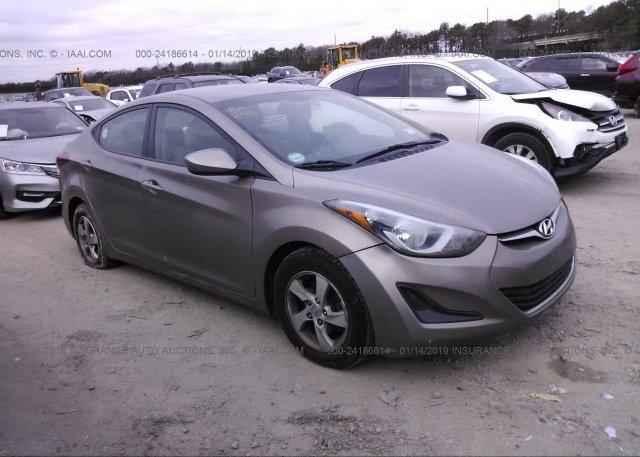 Inventory #144954866 2014 Hyundai ELANTRA