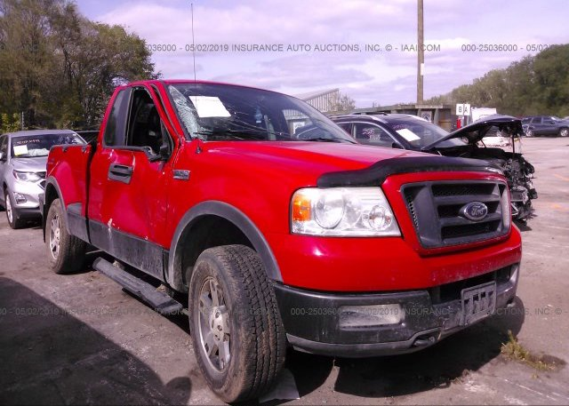 Inventory #816667328 2005 FORD F150