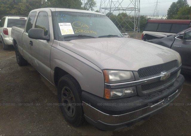 Inventory #917258836 2005 Chevrolet SILVERADO