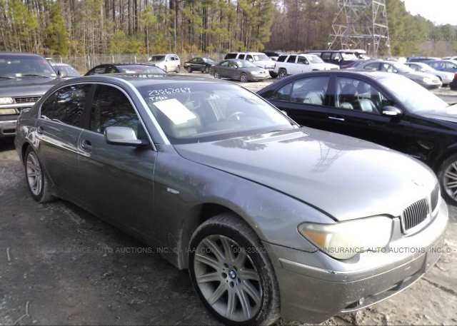 Inventory #971140368 2003 BMW 745