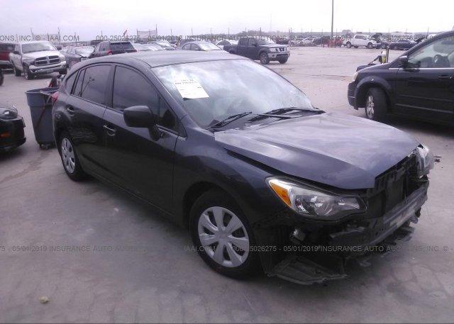 Inventory #234626534 2014 Subaru IMPREZA