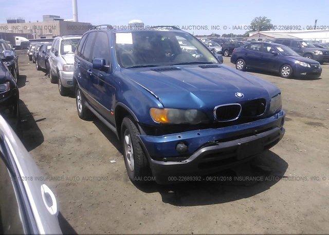 Inventory #336812104 2003 BMW X5