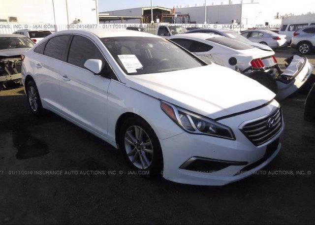 Inventory #537259975 2016 Hyundai SONATA