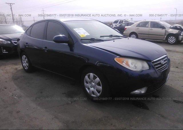 Inventory #683877316 2008 Hyundai ELANTRA