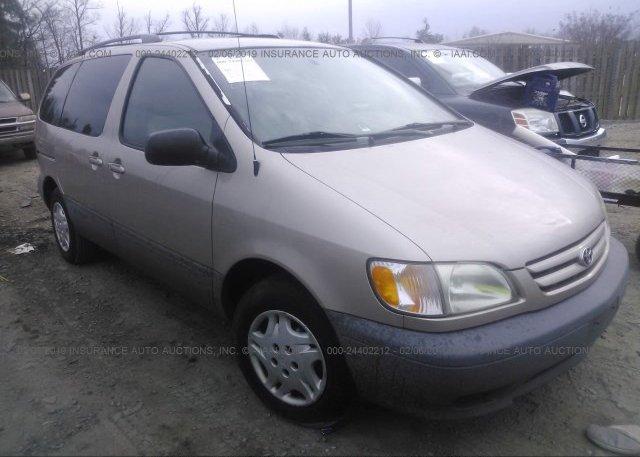 Inventory #452923957 2003 Toyota SIENNA