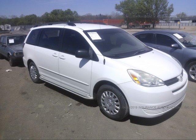 Inventory #646091788 2004 Toyota SIENNA