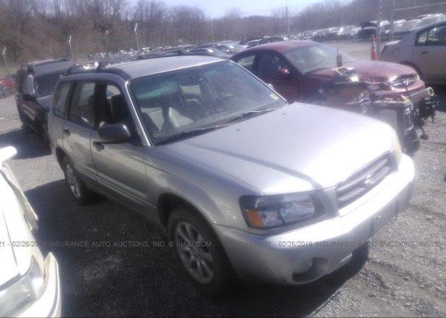 Inventory #881236948 2005 Subaru FORESTER