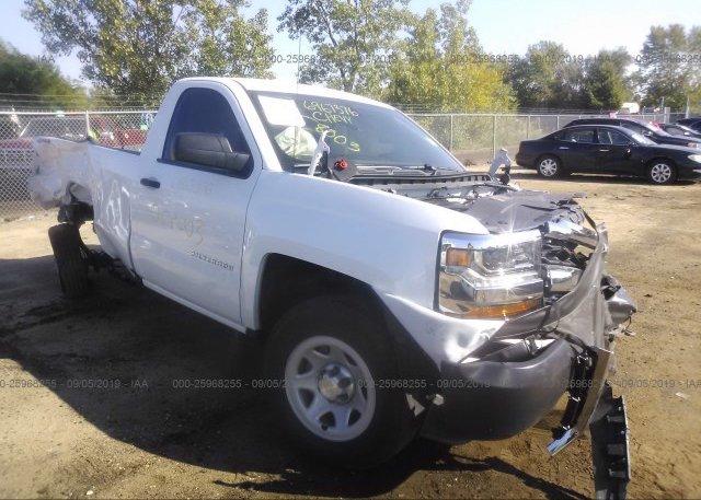 Inventory #597544933 2018 Chevrolet SILVERADO
