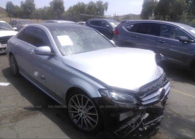55swf4jb8gu145412 Salvage Certificate Silver Mercedes Benz