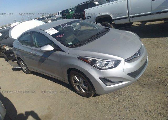 Inventory #859694660 2015 Hyundai ELANTRA