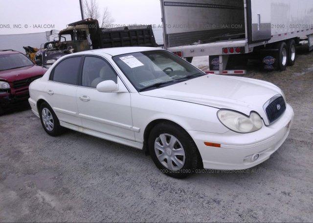 Inventory #751685475 2003 Hyundai SONATA