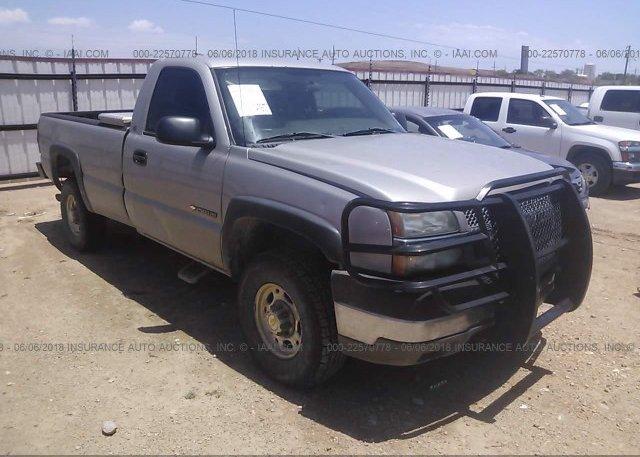 Inventory #853358280 2004 Chevrolet SILVERADO