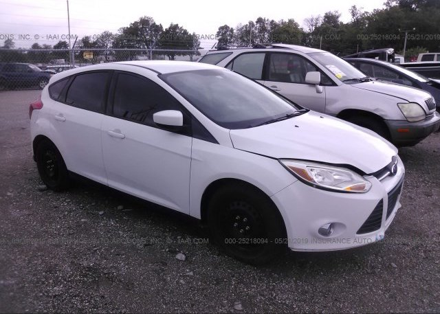 Inventory #815001252 2012 FORD FOCUS