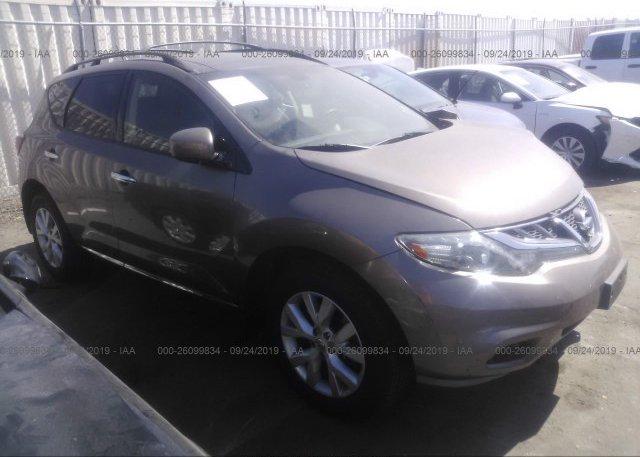 Inventory #505681701 2012 Nissan MURANO