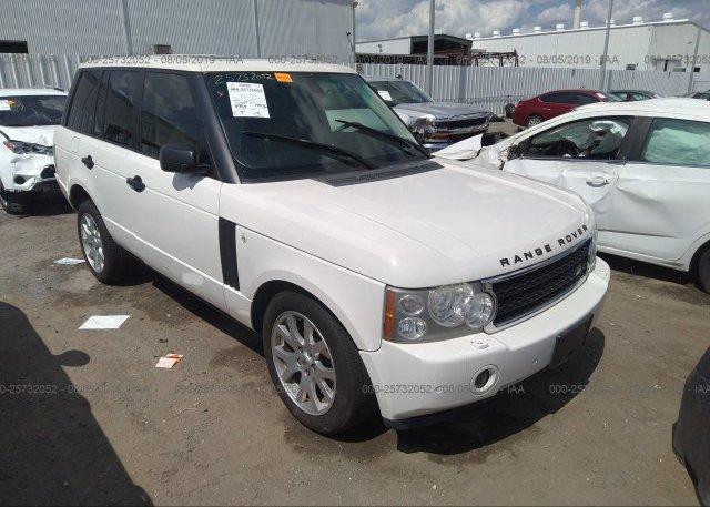 Inventory #604364219 2008 Land Rover RANGE ROVER