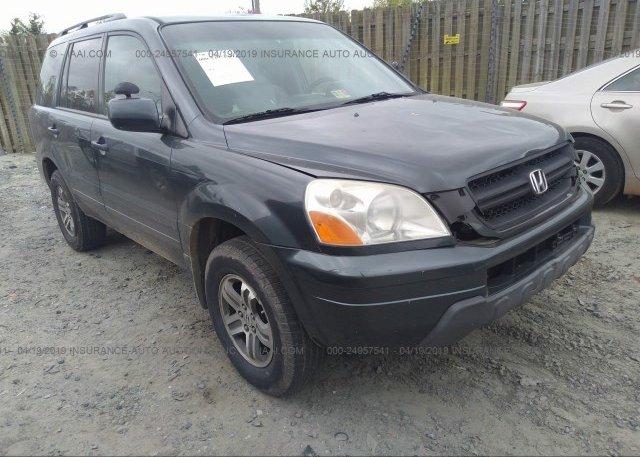 Inventory #306290571 2004 Honda PILOT