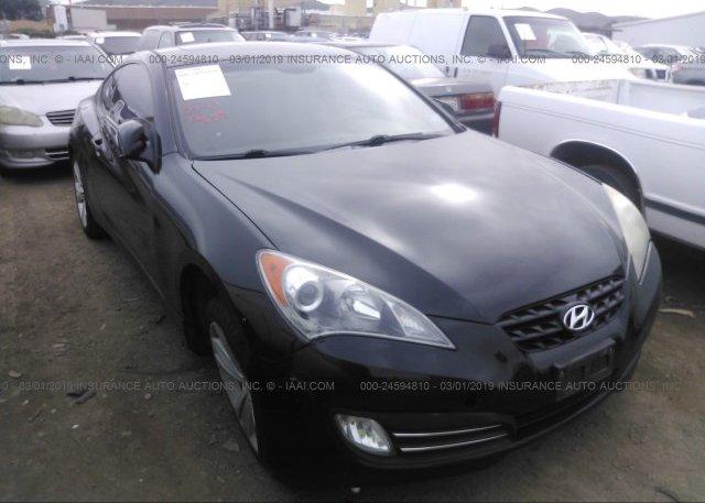 Inventory #854364709 2010 Hyundai GENESIS COUPE