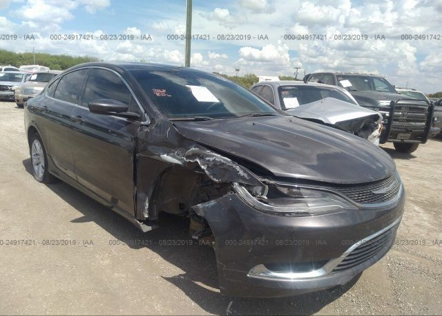 Inventory #205246189 2015 Chrysler 200