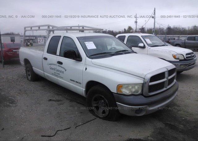 Inventory #654736054 2002 Dodge RAM 1500