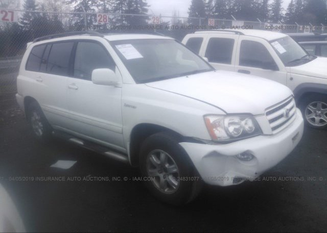 Inventory #473263942 2001 TOYOTA HIGHLANDER