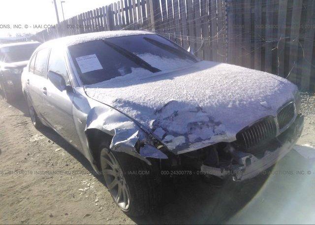 Inventory #146677655 2004 BMW 745