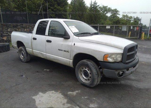 Inventory #730992195 2003 Dodge RAM 1500