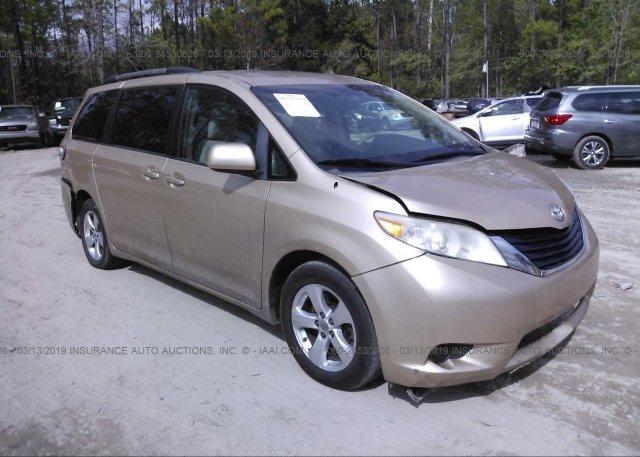 Inventory #967924589 2012 Toyota SIENNA
