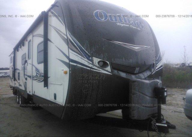Inventory #679616123 2014 KEYSTONE OUTBACK OB312BH