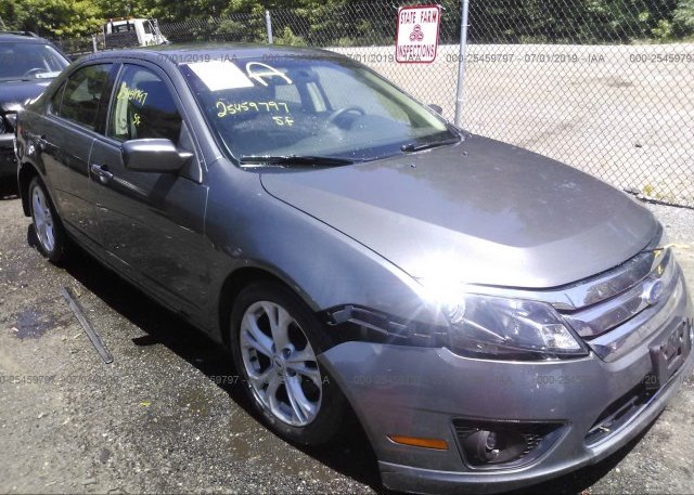 Inventory #598739465 2012 FORD FUSION