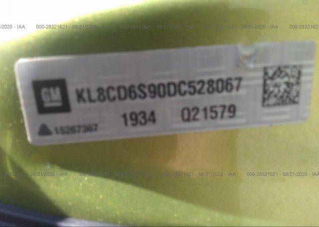 KL8CD6S90DC528067 2013 CHEVROLET SPARK