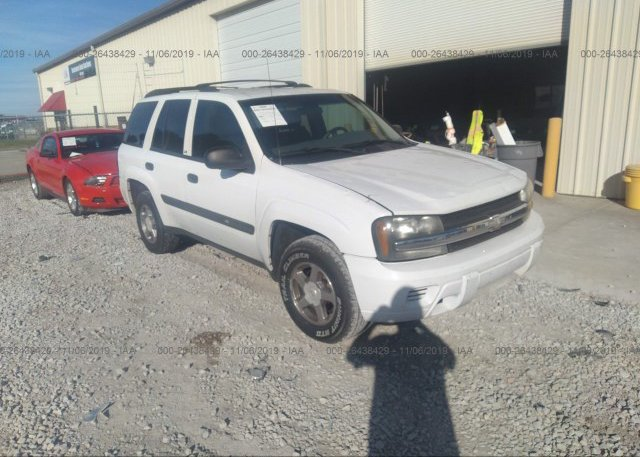 Inventory #243197632 2004 Chevrolet TRAILBLAZER