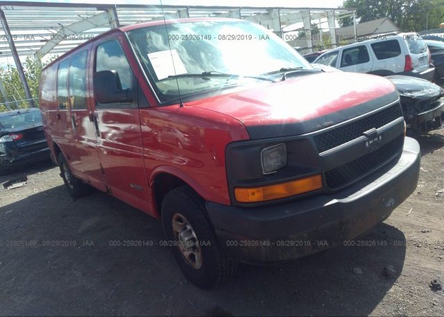 Inventory #229337552 2005 Chevrolet EXPRESS G2500