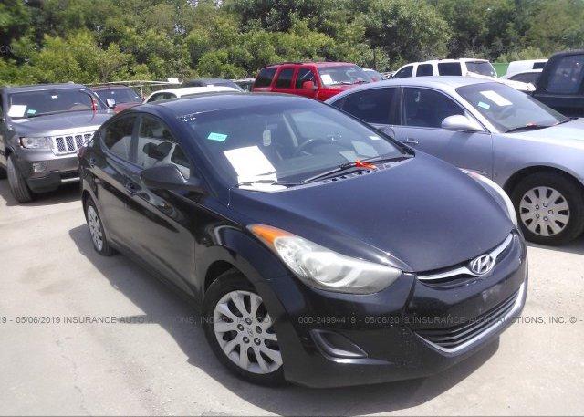 Inventory #256317547 2011 Hyundai ELANTRA