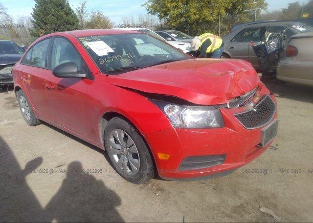 Inventory #530660136 2014 Chevrolet CRUZE