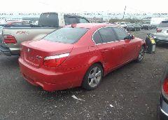 2008 BMW 528 - WBANV13598C150524 rear view