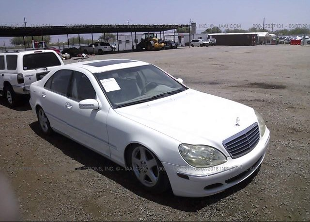 Inventory #724821580 2005 Mercedes-benz S
