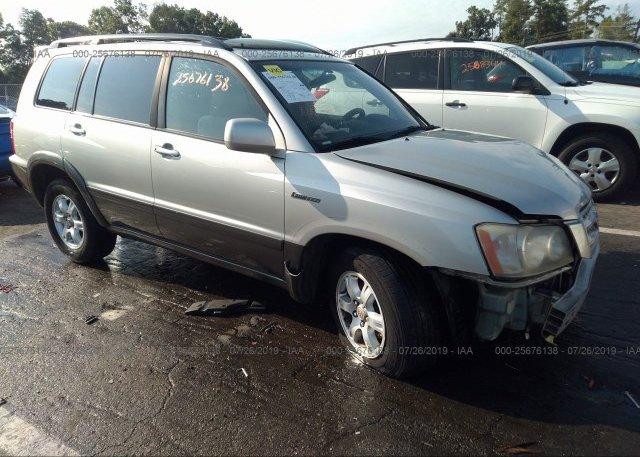 Inventory #875070290 2003 Toyota HIGHLANDER