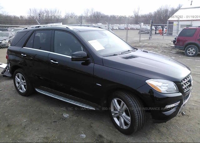 Bidding Ended On 4jgda5hb8ca066758 Salvage Mercedes Benz Ml350 At