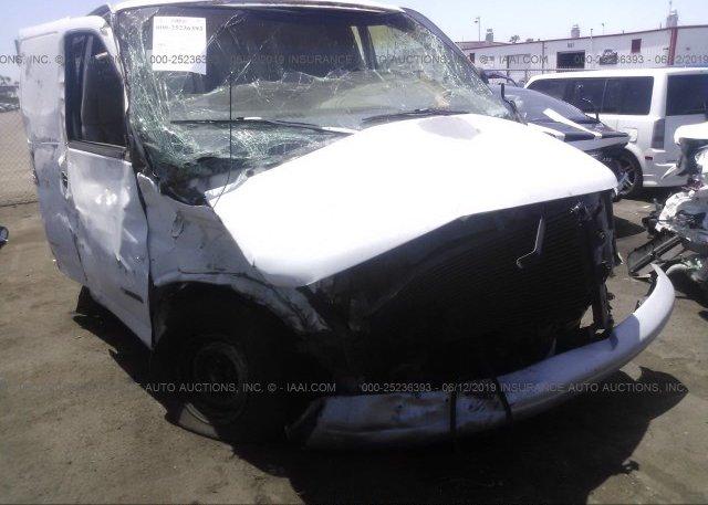 Inventory #803950419 2000 Chevrolet EXPRESS G1500